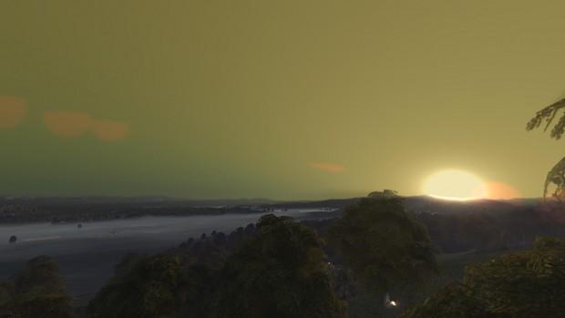 Volume Fog & Depth of Field & Atmospheric Scatteri