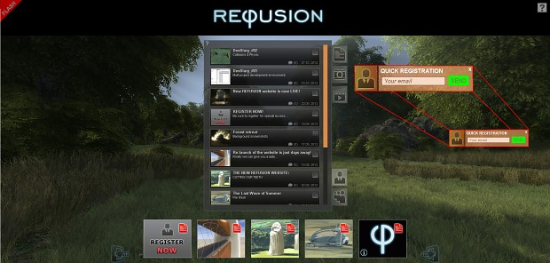 Quick Registration feature