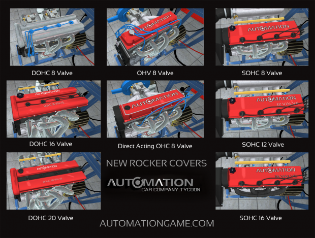New Improved Rocker Covers