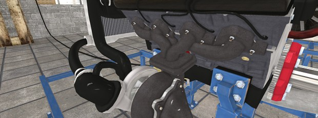 New Cast Iron Exhaust Texture