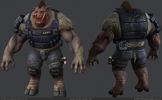 Piggy by maskedvertexeater
