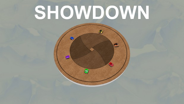 Showdown on a spinning platform