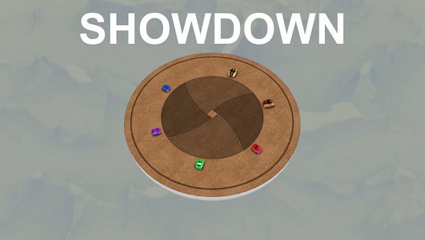 Showdown on a spinning platform