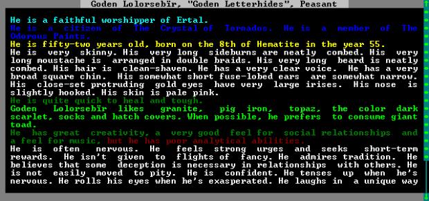 Typical Dwarf