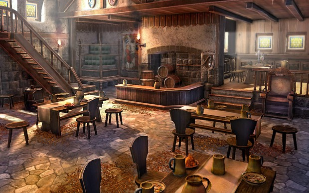 Tavern artwork