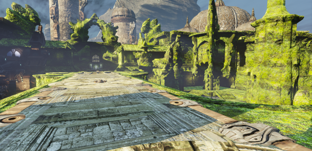 Ruins, remake of the Necropolis