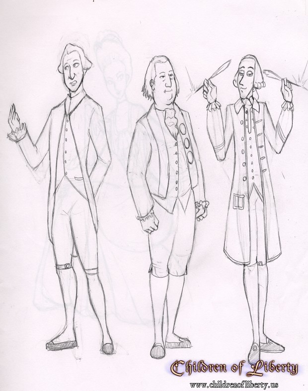 Children of Liberty Concept Art