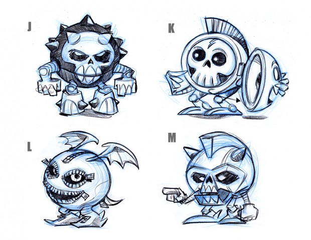 Concept of the main character