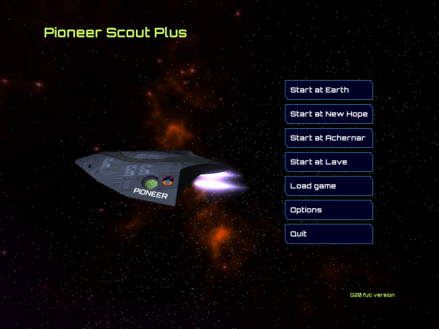 Pioneer Scout G20