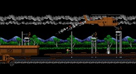 8-Bit Commando gameplay
