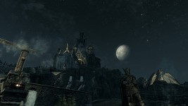 Star lit night over Whiterun