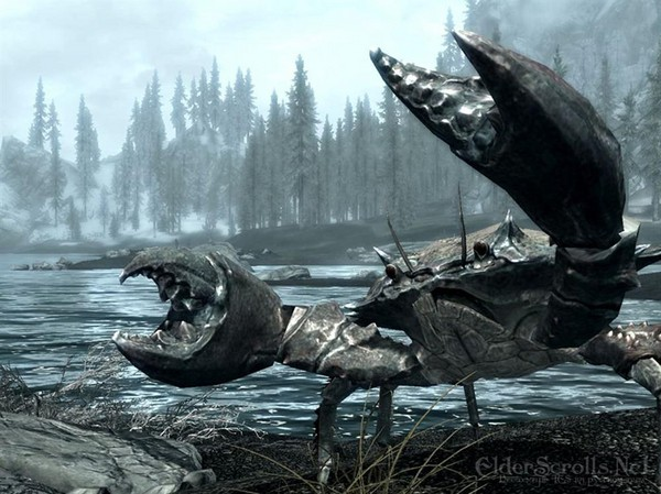 skyrim crab and pic