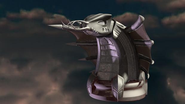 Newly finished improved Thunder cannon!