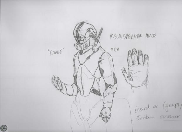 MOA ( mech operation armor )
