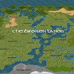 Broken Lands Map