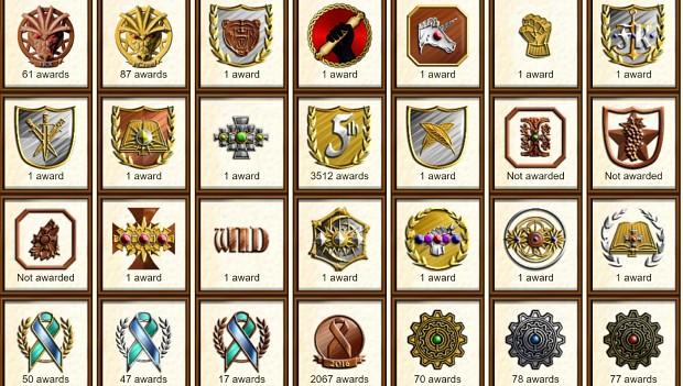 Illyriad Medals