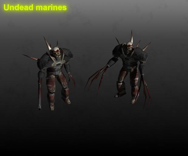 Risen undead marines