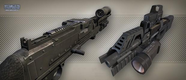 M240, modified P90