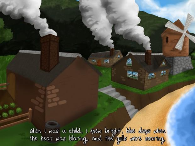 A story scene