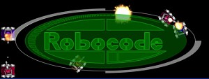 Robocode Logo with tanks