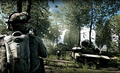 In-game screens
