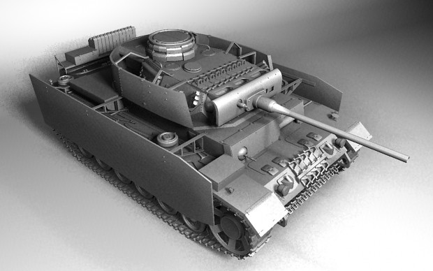 Panzer III Ausf-L Model CornerR (WIP)