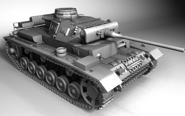 Panzer III Ausf-L Model CornerRbare (WIP)