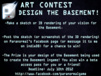 Paranormal - DESIGN THE BASEMENT CONTEST!