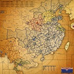 Red Sun Over China map