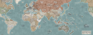 World At War map