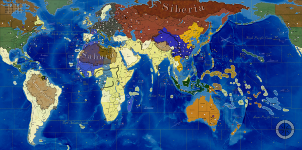 Global War map