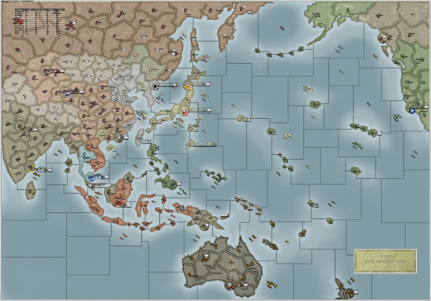 The Rising Sun map