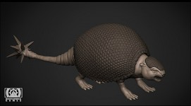 Playable Glyptodon Animal