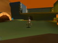 """In-game screenshot of """"Heart Of The Volcano"""""""
