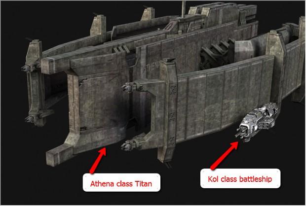 Athena Class Titan