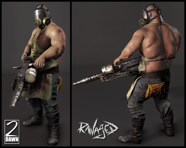 Ravaged Grunt Character