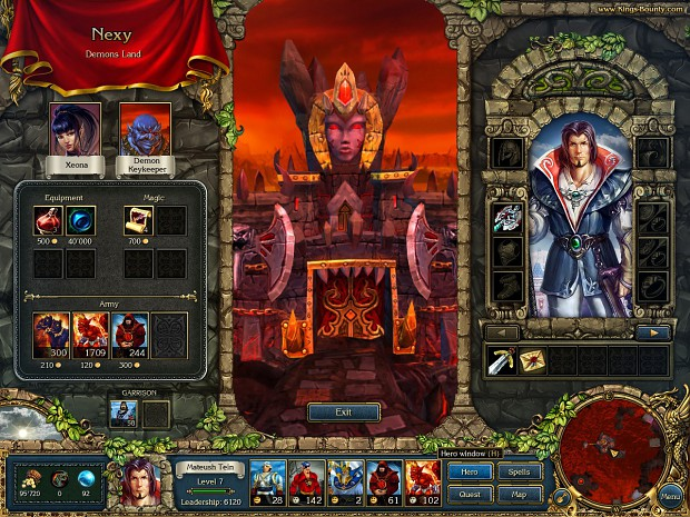 Screenshot from 15 september 2008