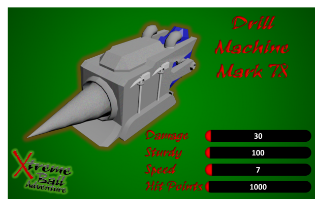 Drill Machine Mark 78 Statistics