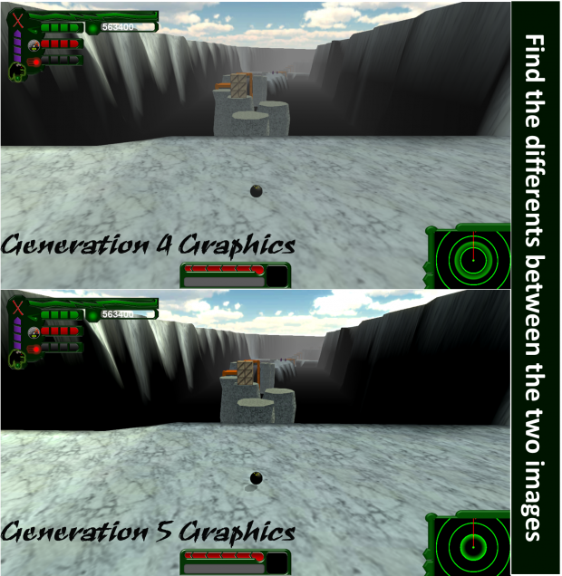 Improved graphics