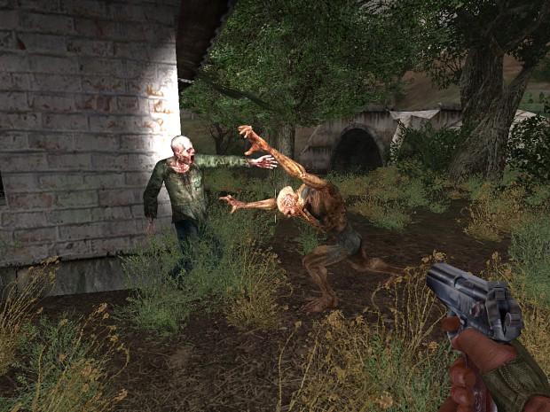 Zombie versus Bloodsucker
