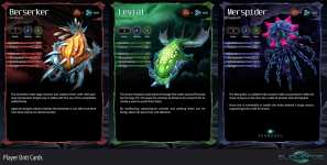 Player Unit Cards
