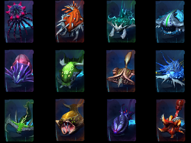 [Submerge] Unit Portraits