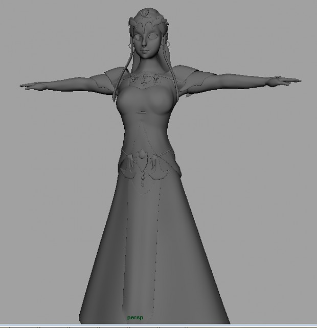Zelda ready to Texture