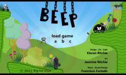 BEEP Title Screen