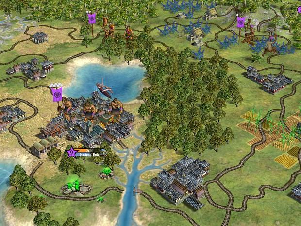 Warlords expansion screenshot