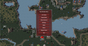 OpenRA main menu