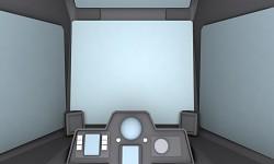 RGM-79 GM cockpit