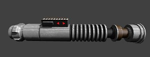 Luke Skywalker Customizable Saber Concept (WIP)