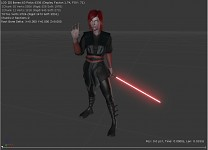 Female Jedi and Sith UDK Render Test