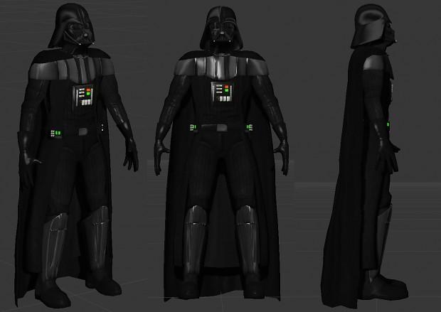 Darth Vader WIP 4